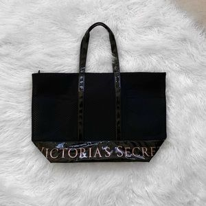 VS Mesh Black Tote Bag